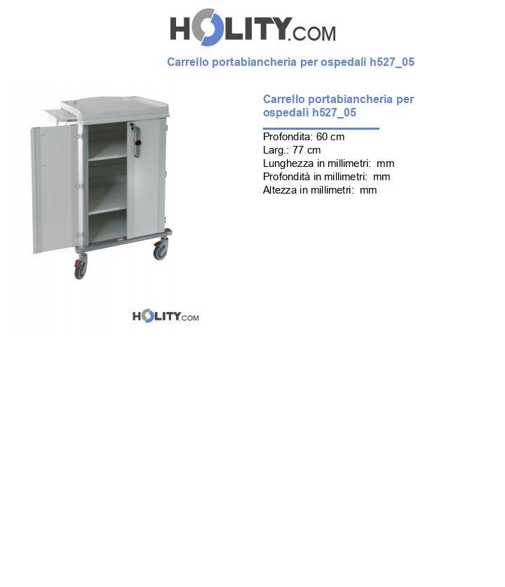 Carrello portabiancheria per ospedali h527_05