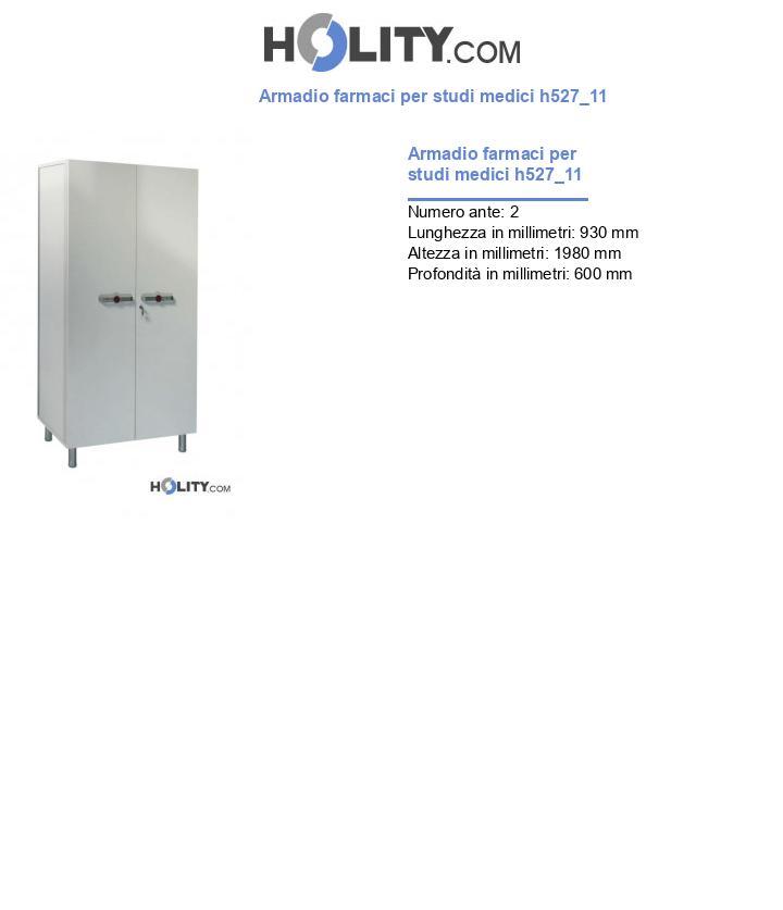 Armadio farmaci per studi medici h527_11