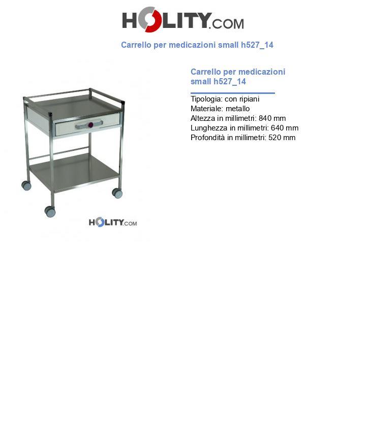Carrello per medicazioni small h527_14