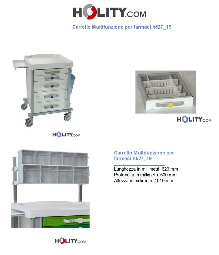 Carrello Multifunzione per farmaci h527_19