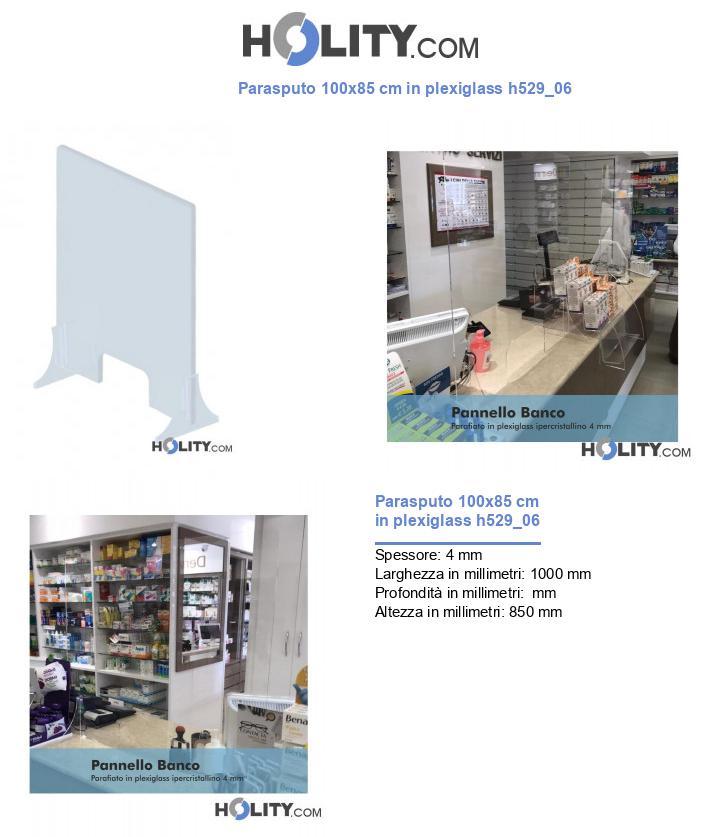 Parasputo 100x85 cm in plexiglass h529_06