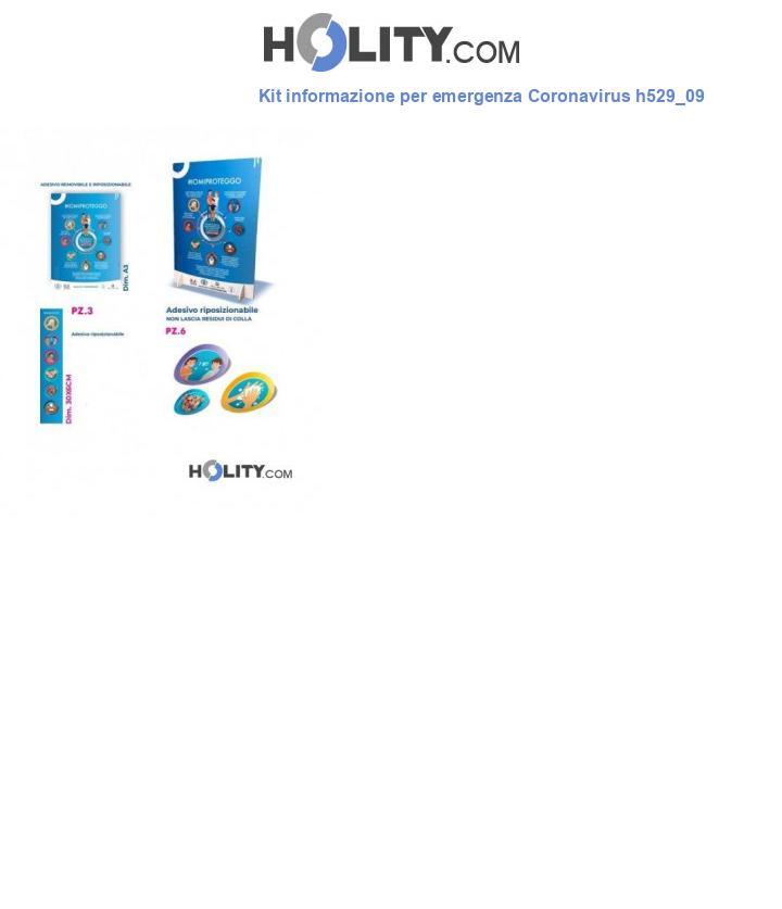 Kit informazione per emergenza Coronavirus h529_09