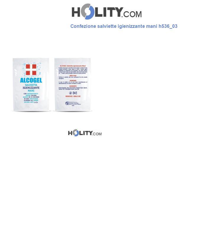 Confezione salviette igienizzante mani h536_03