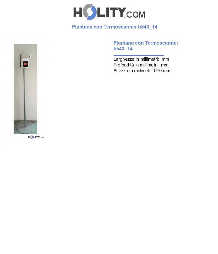 Piantana con Termoscanner h543_14