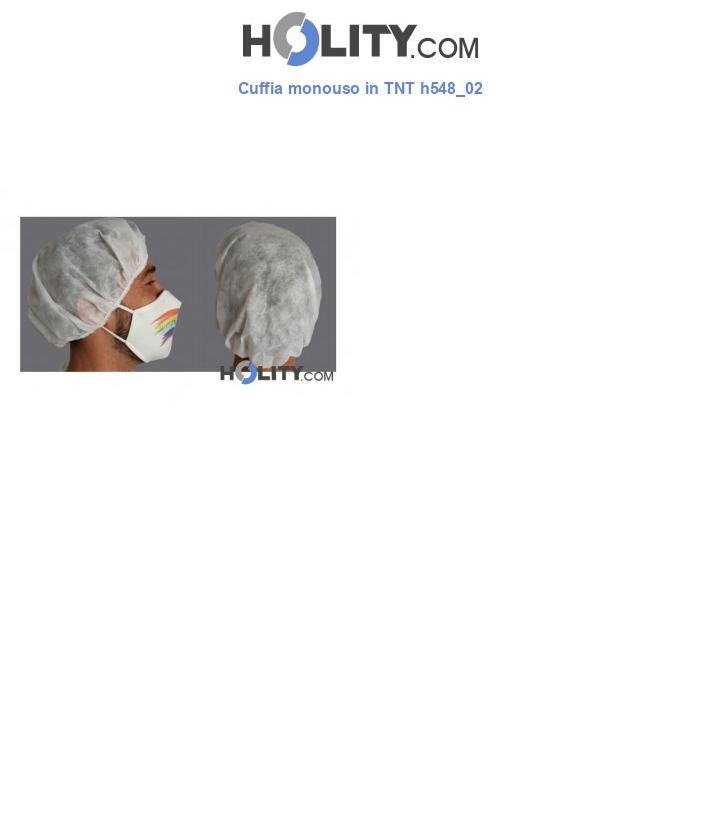 Cuffia monouso in TNT h548_02