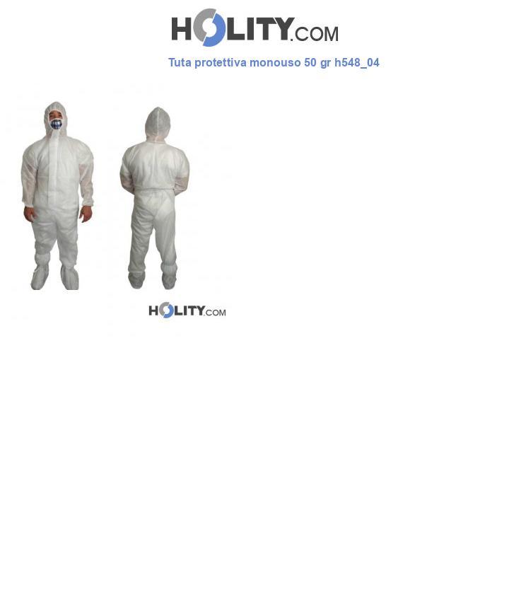 Tuta protettiva monouso 50 gr h548_04
