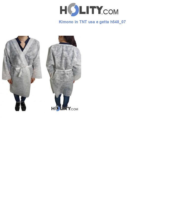 Kimono in TNT usa e getta h548_07