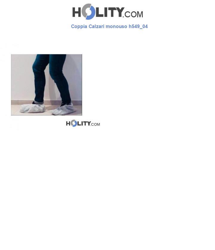 Coppia Calzari monouso h549_04