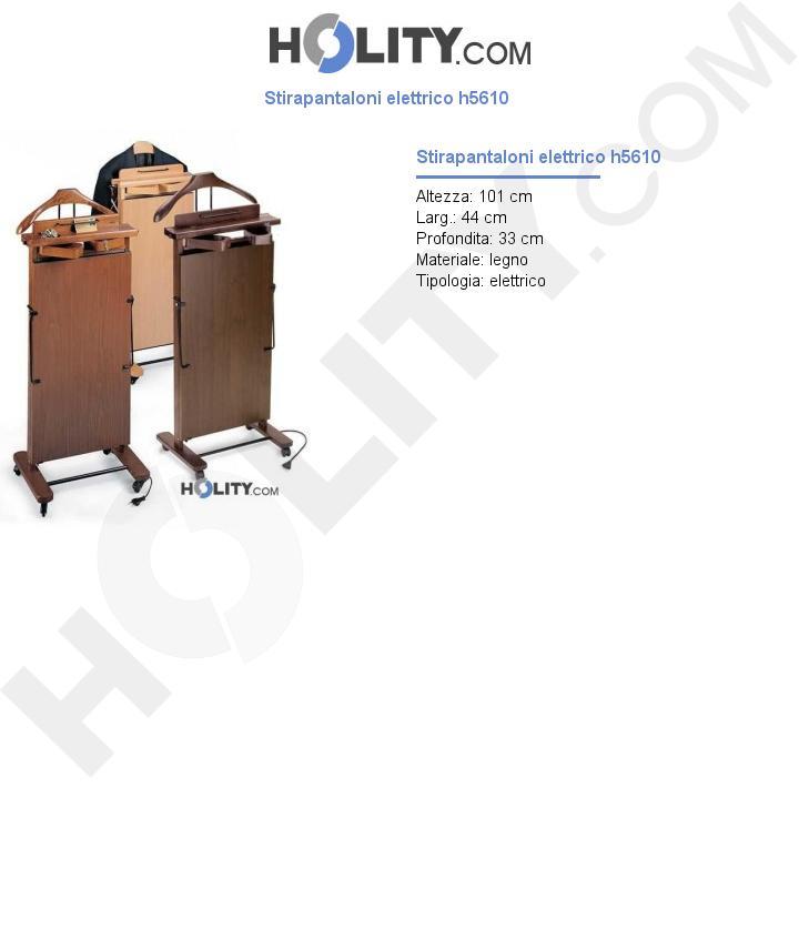 Stirapantaloni elettrico h5610