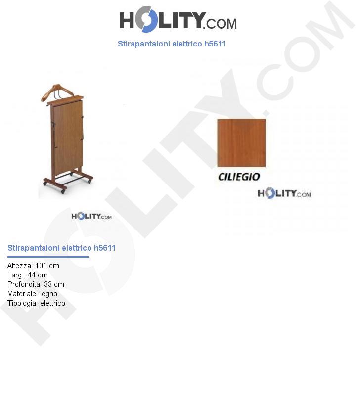 Stirapantaloni elettrico h5611