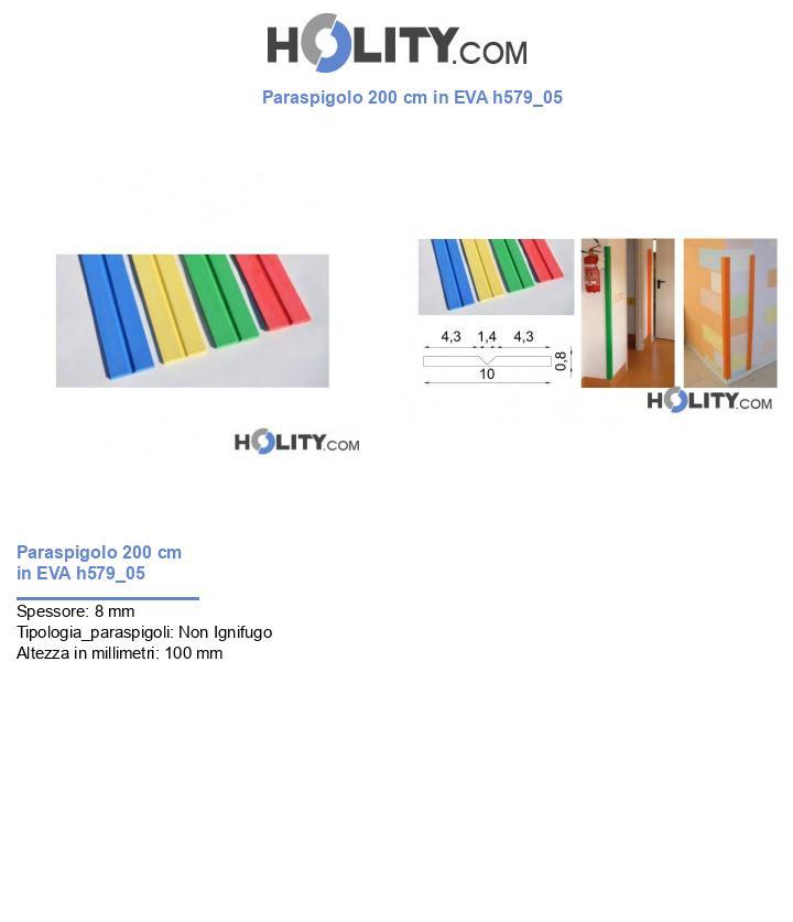 Paraspigolo 200 cm in EVA h579_05