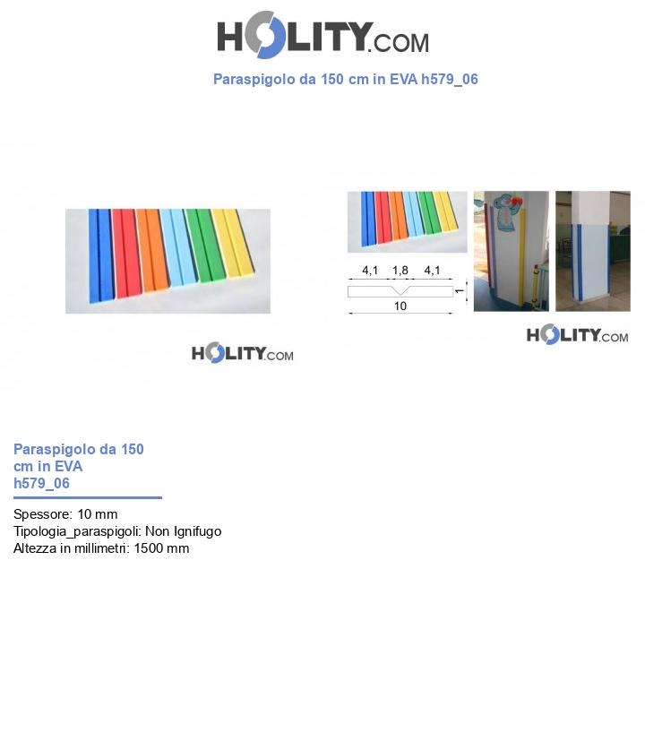 Paraspigolo da 150 cm in EVA h579_06
