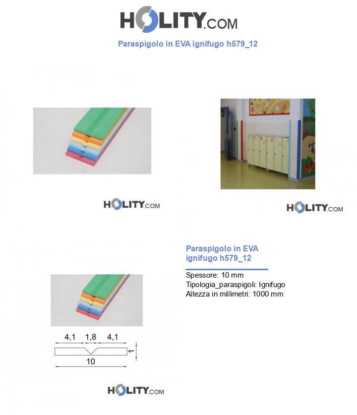 Paraspigolo in EVA ignifugo h579_12