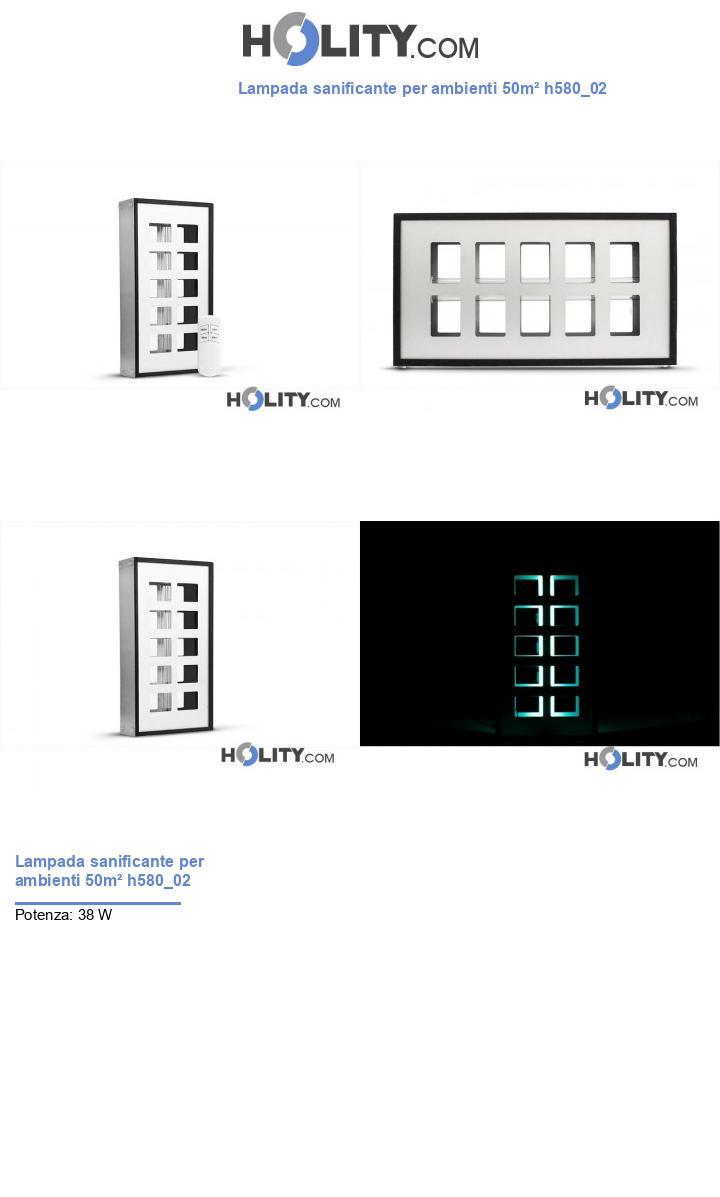 Lampada sanificante per ambienti 50m² h580_02