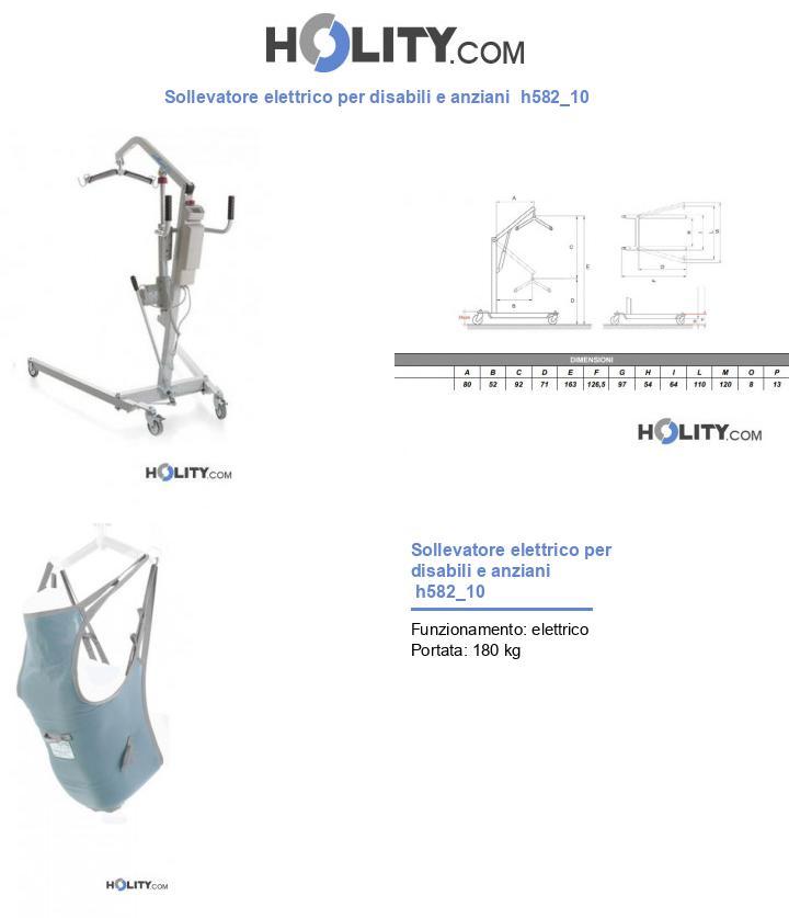 Sollevatore elettrico per disabili e anziani  h582_10