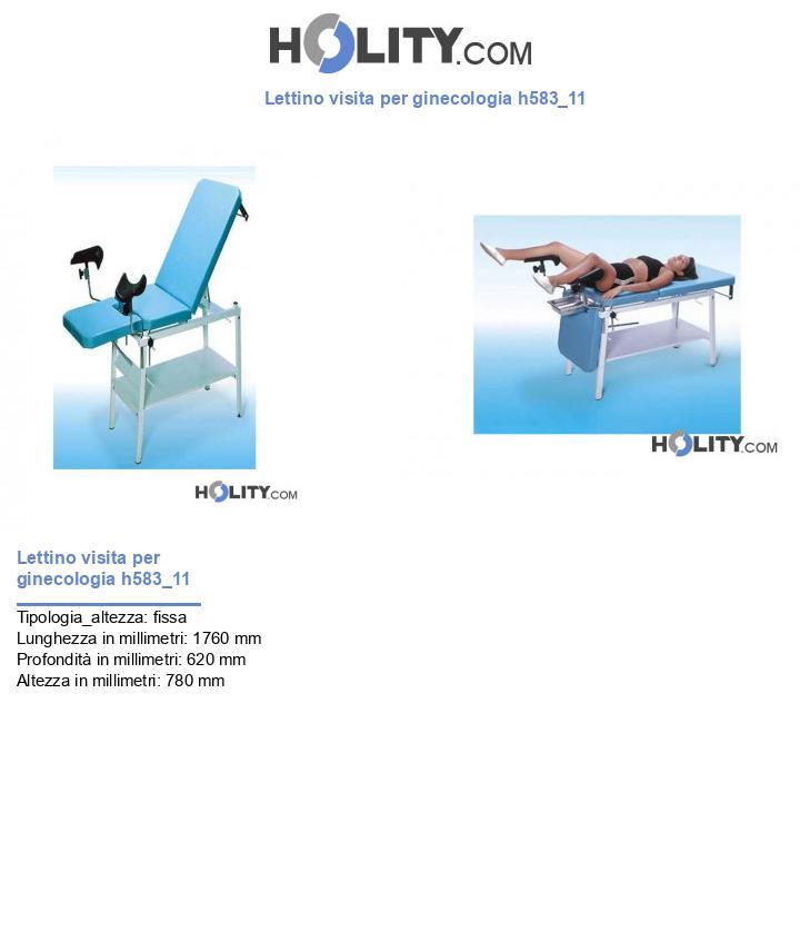 Lettino visita per ginecologia h583_11