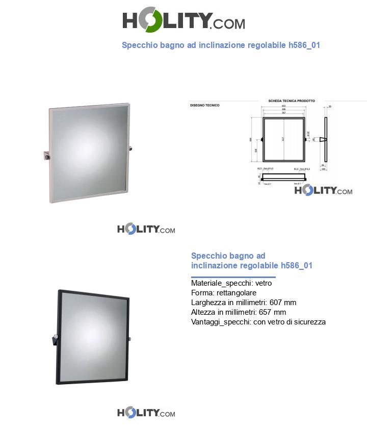 Specchio bagno ad inclinazione regolabile h586_01