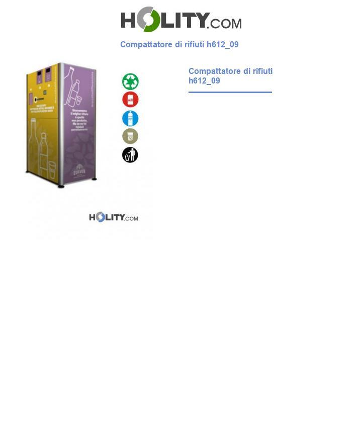 Compattatore di rifiuti h612_09