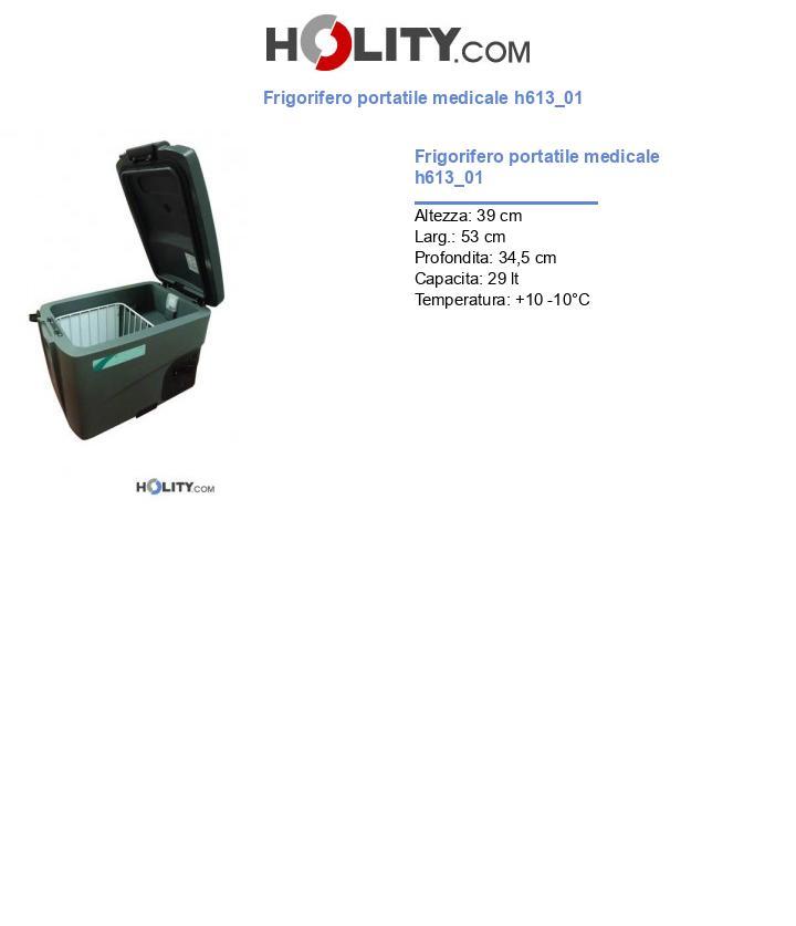 Frigorifero portatile medicale h613_01