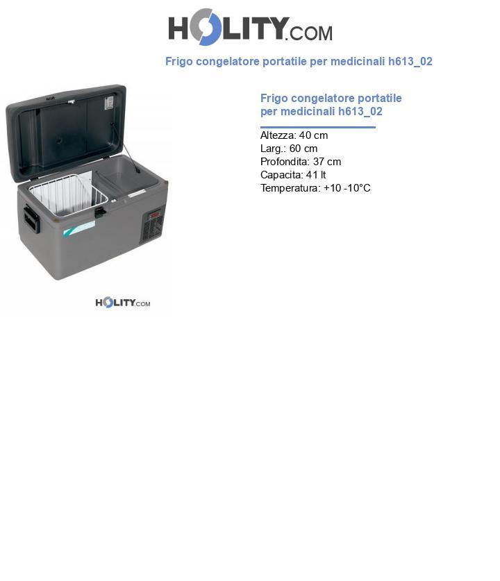 Frigo congelatore portatile per medicinali h613_02