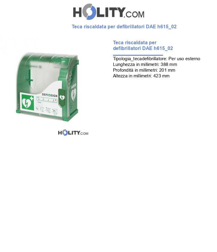 Teca riscaldata per defibrillatori DAE h615_02