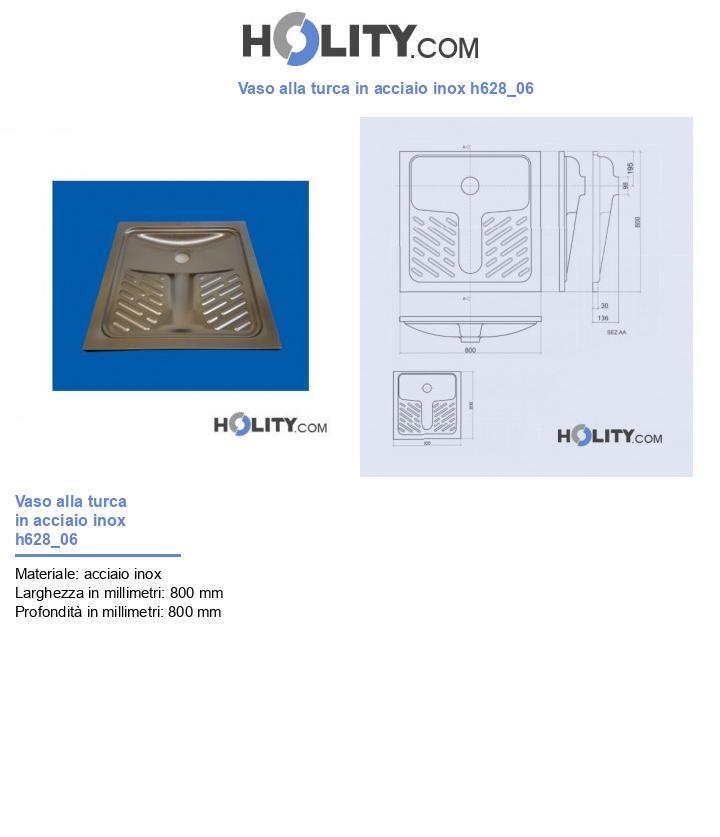Vaso alla turca in acciaio inox h628_06