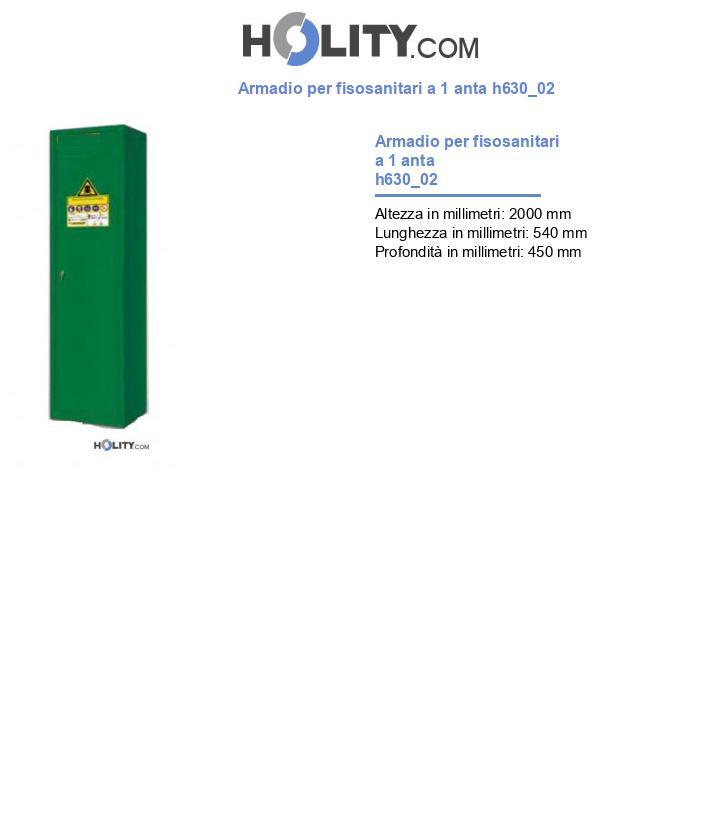 Armadio per fisosanitari a 1 anta h630_02