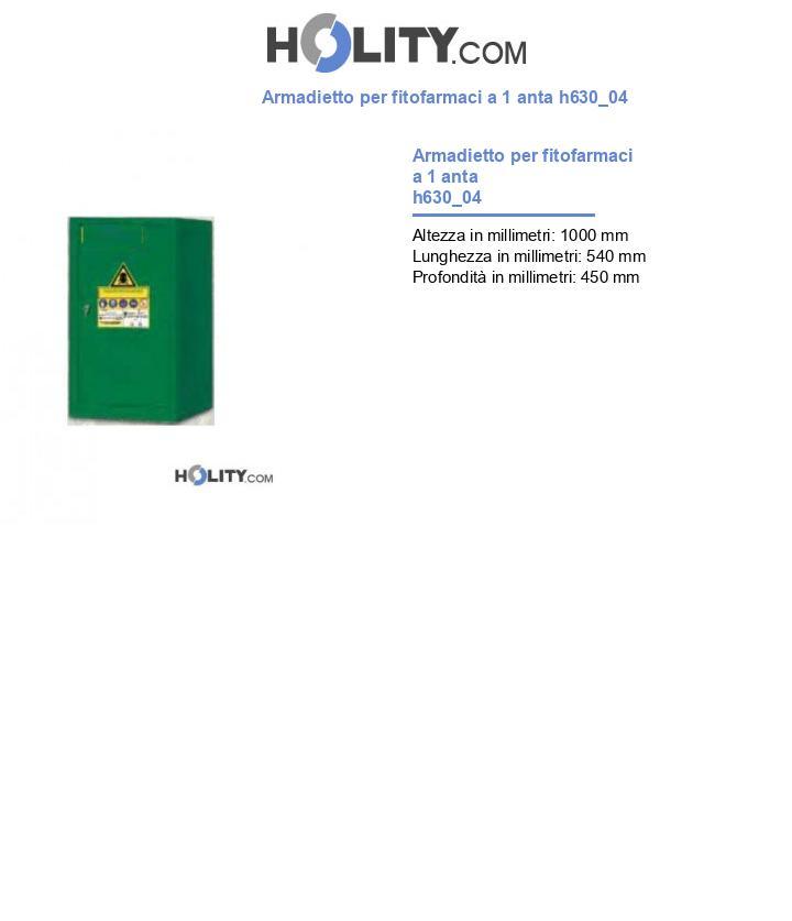 Armadietto per fitofarmaci a 1 anta h630_04