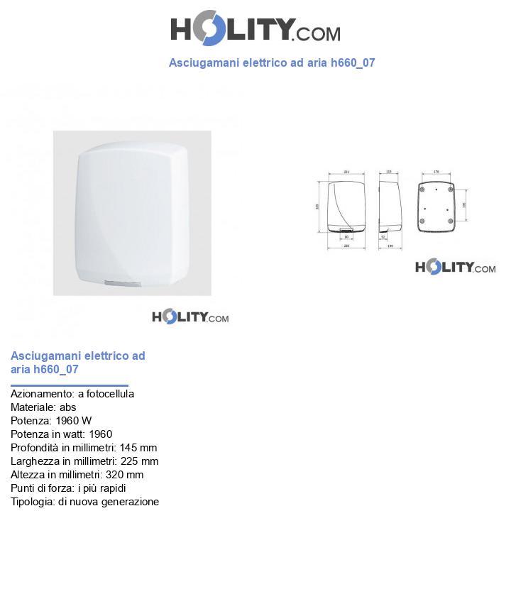 Asciugamani elettrico ad aria h660_07