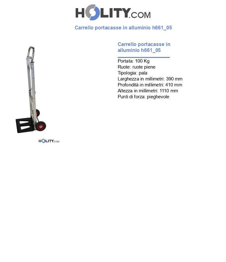 Carrello portacasse in alluminio h661_05