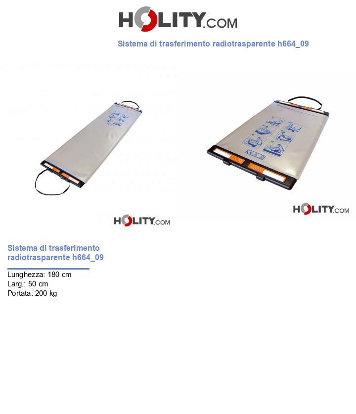 Sistema di trasferimento radiotrasparente h664_09