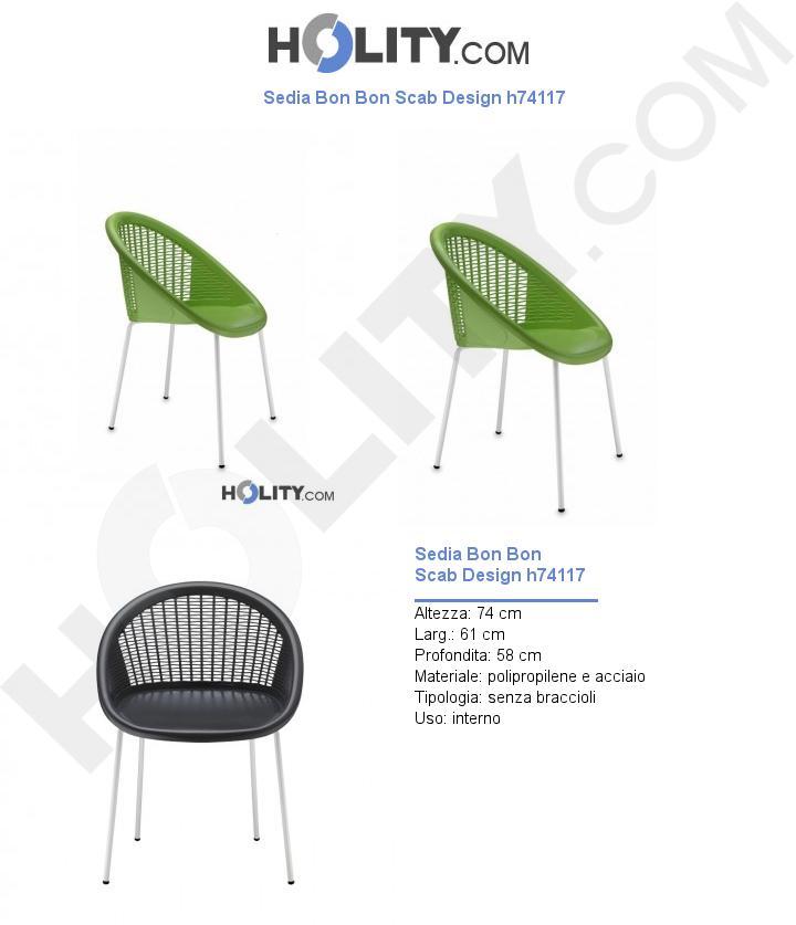 Sedia Bon Bon Scab Design h74117