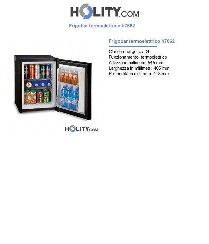 Frigobar termoelettrico h7662