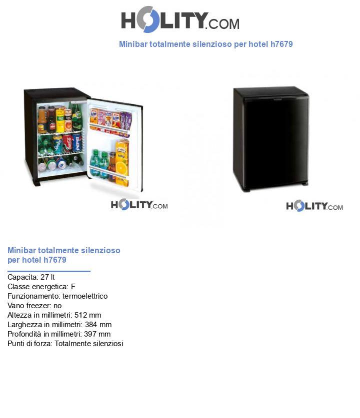 Minibar totalmente silenzioso per hotel h7679