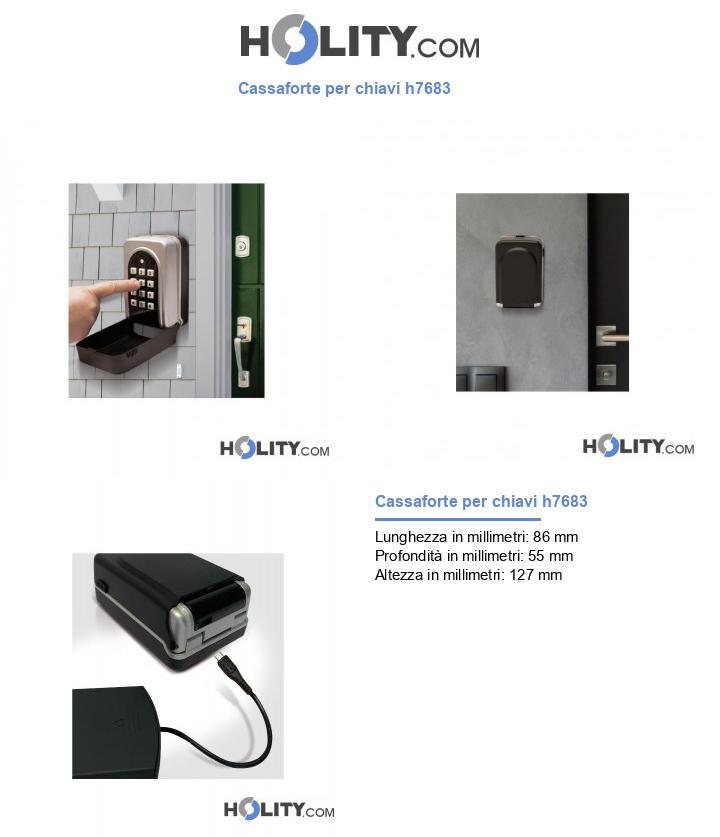 Cassaforte per chiavi h7683