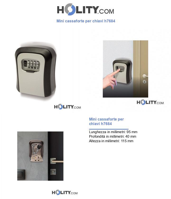 Mini cassaforte per chiavi h7684