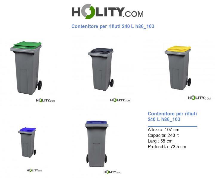 Contenitore per rifiuti 240 L h86_103