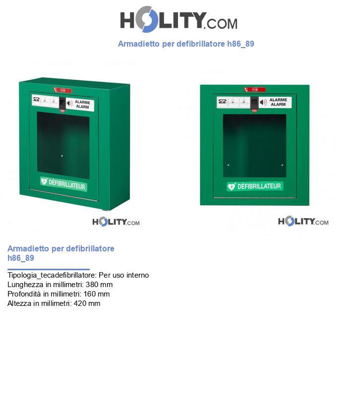 Armadietto per defibrillatore h86_89