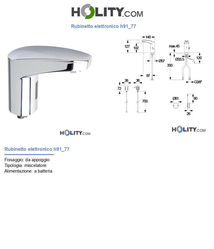 Rubinetto elettronico h91_77