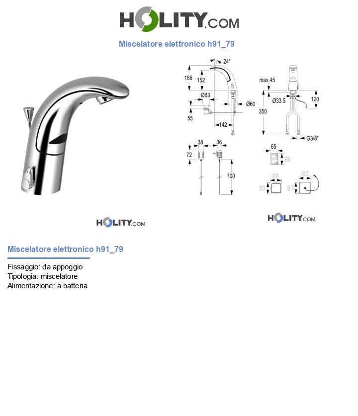 Miscelatore elettronico h91_79