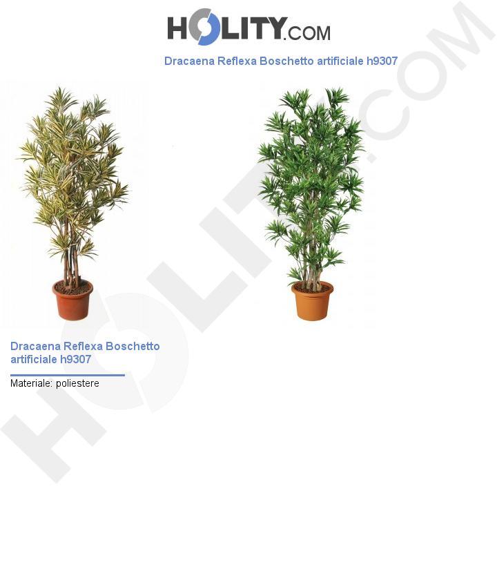 Dracaena Reflexa Boschetto artificiale h9307