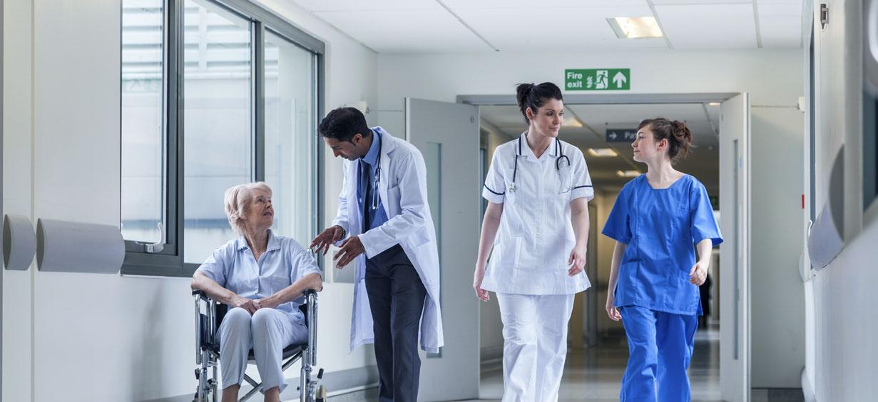 Sistemi di controllo accessi per ospedali e case di riposo