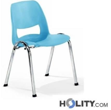 sedie conferenza in plastica